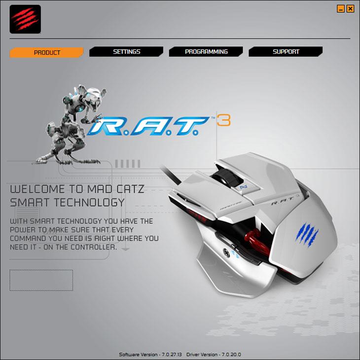 매드캣츠 R.A.T. 3 후기,매드캣츠,MadCatz,저렴한 게이밍 마우스,게이밍 마우스,game,게이밍,IT,IT제품리뷰,후기,사용기,RAT3,매드캣츠 R.A.T. 3 후기를 올려봅니다. MadCatz 저렴한 게이밍 마우스로 이 제품을 소개 하고 싶은데요. R.A.T 시리즈는 사이버틱 하면서도 사용자가 튜닝을 할 수 있는 특이한 마우스 인데요. 시리즈 별로 가격과 기능들이 좀 차이가 있습니다. 매드캣츠 R.A.T. 3 후기를 쓰려고 확인해보니 이 마우스의 경우에는 디자인은 튜닝 마우스 느낌을 가져가면서 가격은 줄이기 위해서 기능을 조금은 제한 했습니다. 좌우측과 후면 부분에 손이 닿는 부분에 길이 등을 조절할 수 있는 기능이 없더군요. 하지만 3500 DPI의 성능, 다이나믹 폴링 레이트 기능, 특이한 디자인 등 게이밍 요소들은 다 갖추고 있습니다. 매드캣츠 R.A.T. 3 소프트웨어를 설치하면 각 버튼별로 매크로 및 기능을 입힐 수 있으며 모드별로 DPI를 단계를 조절해 둘 수 있습니다. 그럼 실제로 활용 느낌을 전해보도록 하겠습니다.