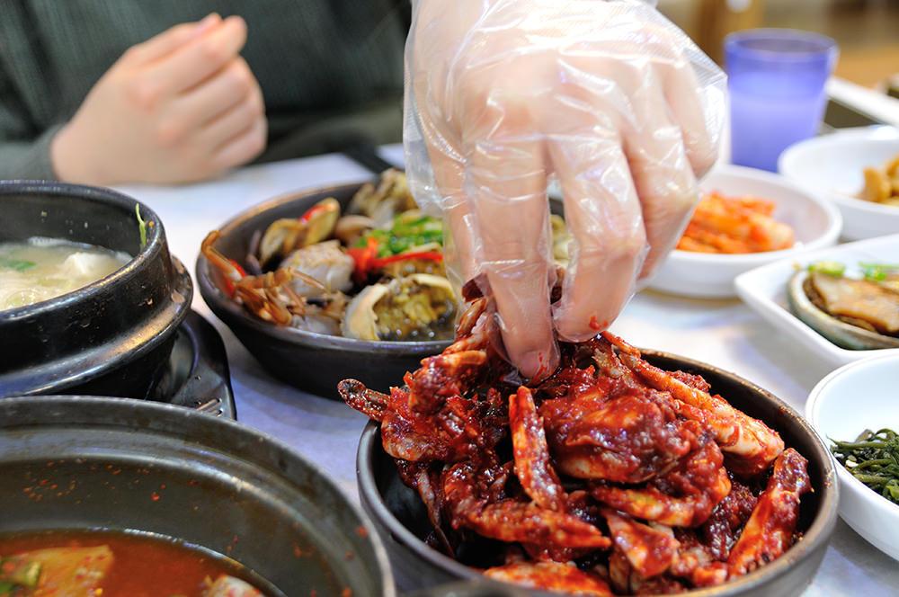 거제 장승포동 싱싱 게장