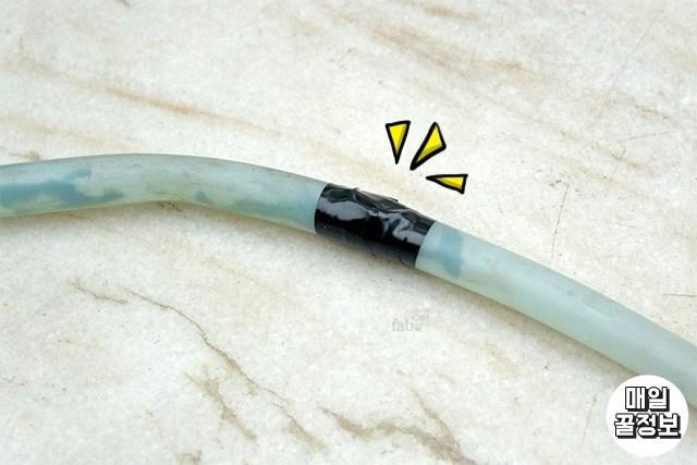 호스구멍메꾸기 이쑤시개활용법