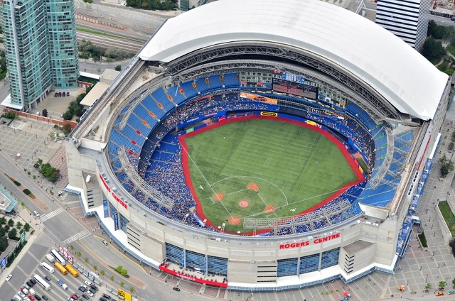 Field Of Dreams 미국 개폐식돔 야구장 1 Rogers Centre Skydome
