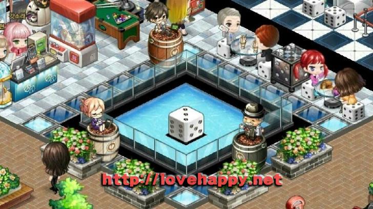 멋진 주사위 연못이 있는 즐거운 오락실 아이러브 커피 인테리어 by 갓정훈 004