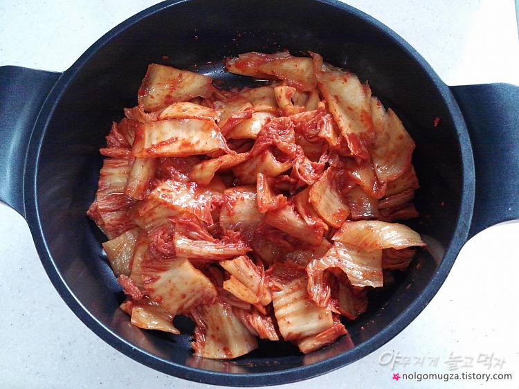 꽁치 김치찌개 만드는법
