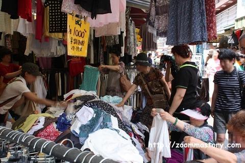 국제시장, 깡통시장, 옷, 가게