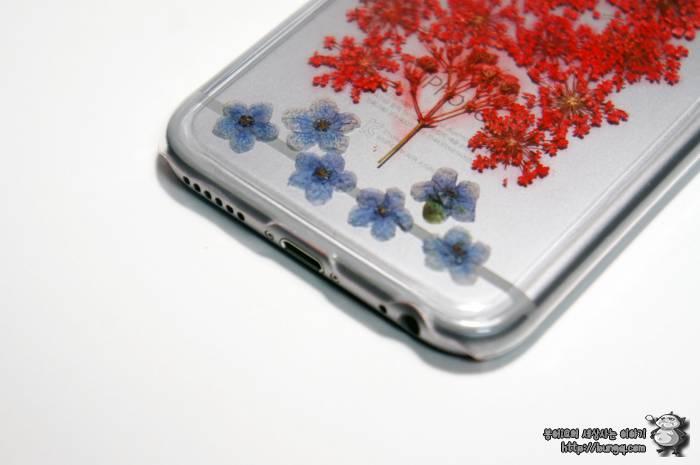 아이폰6, 생화, 케이스, 에코홀릭, 후기, 꽃무늬, 소녀감섬, 골드, 실버, 어울리는
