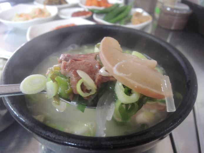 한라네 소머리국밥... 장흥 토요시장 맛집 한라국밥...