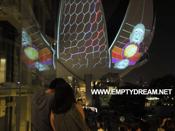 싱가포르 여행 - 헬릭스 다리 helix bridge