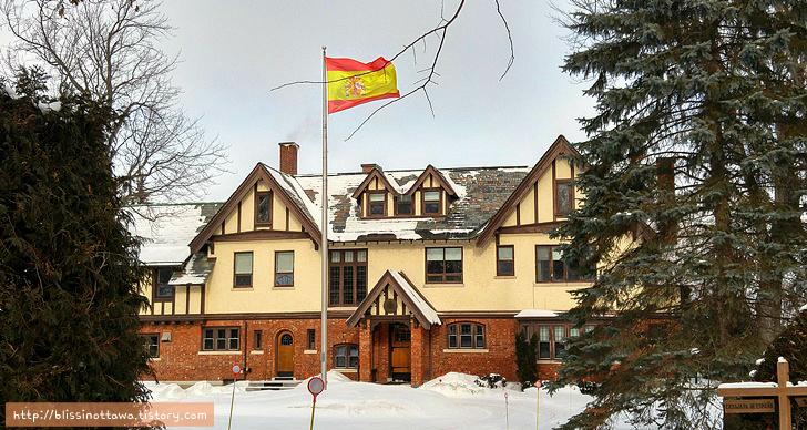 캐나다 부자 동네 스페인 대사관저