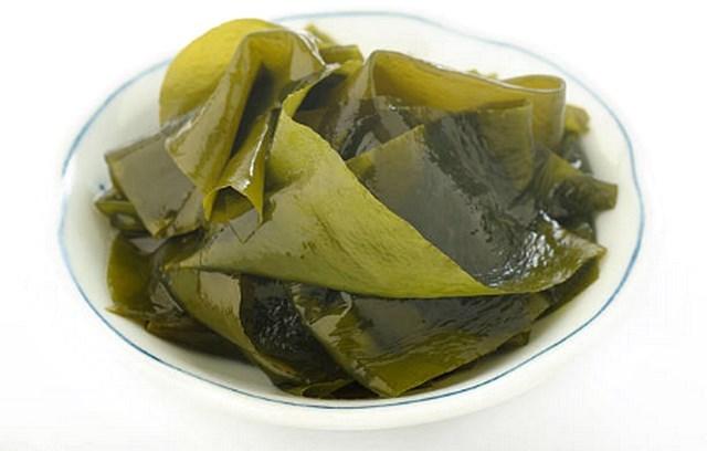 미역 칼슘이많은음식 알칼리성식품 알긴산 효능