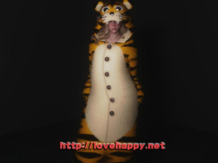 스카이림 의상 - 동물 의상 animal pajama clothes skyrim mod 002
