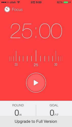 뽀모도로 키퍼-시간관리, 생산성향상을 위한 앱