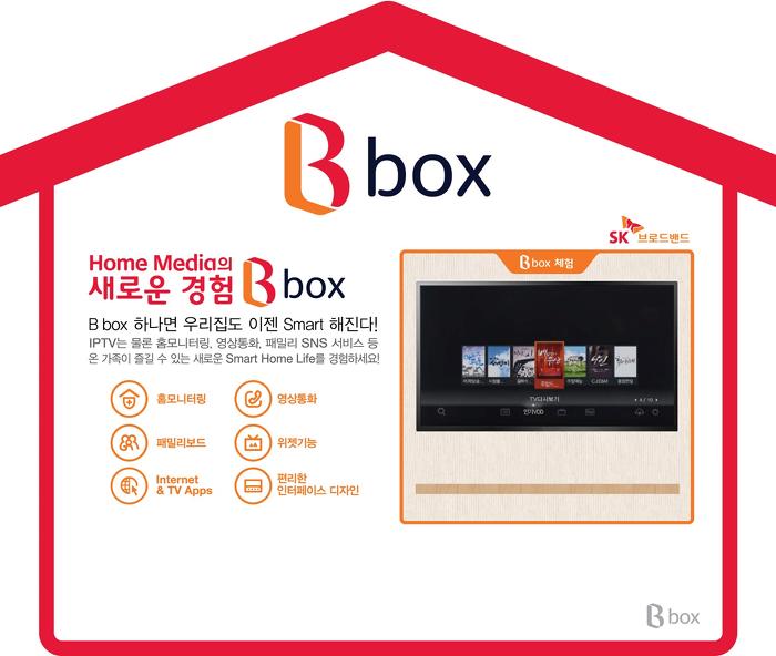 홈 미디어의 새로운 경험 B box