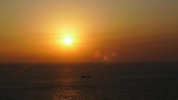 송악산 일몰