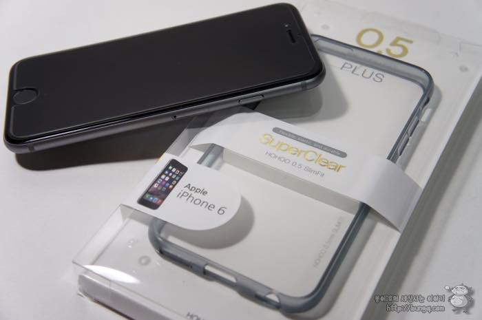 아이폰6 케이스 추천, 호후 0.5 슈퍼클리어 슬림핏 투명케이스