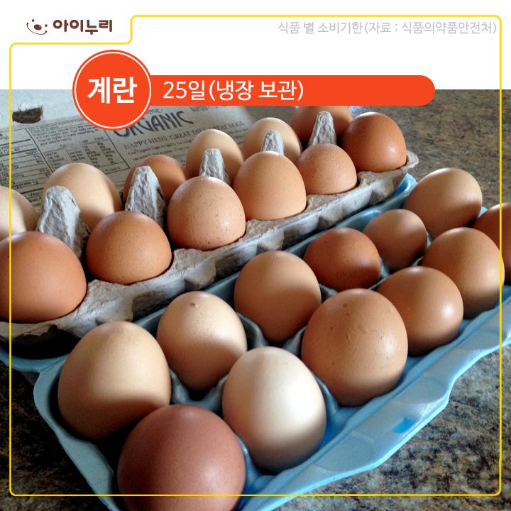 계란 식품기한