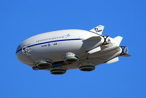 Lockheed Martin 의 하이브리드 에어쉽 P-791 < 출처 : airliners.net >