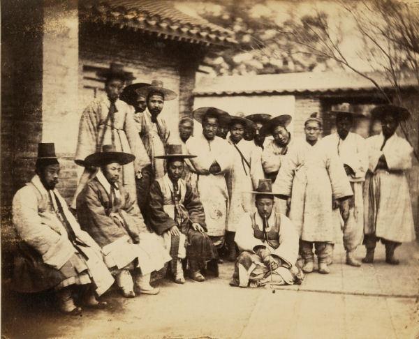 한국 최초의 사진 the first korean photo