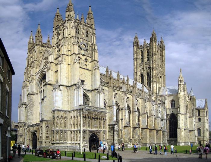 캔터베리 대성당 Canterbury Cathedral 외부
