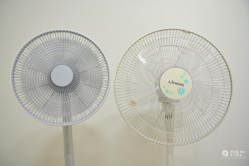 샤오미 스마트 선풍기 사용후기. 바람세기 및 사용시간은?