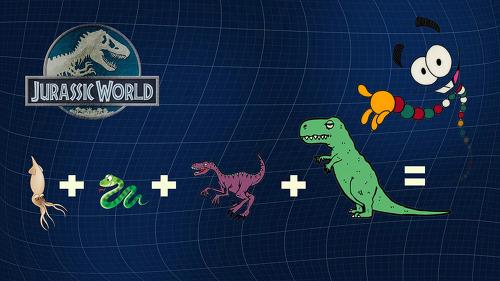 쥬라기월드 공룡 DNA