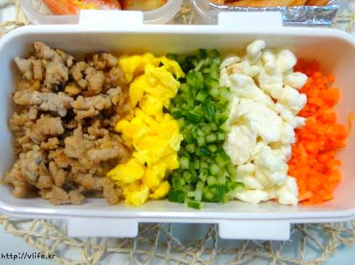 소보로 비빔밥