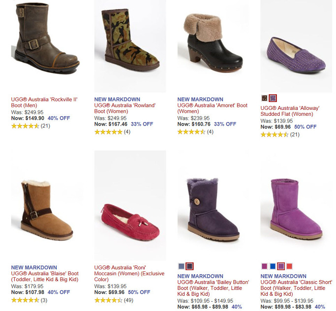 ugg coupon code august 2013