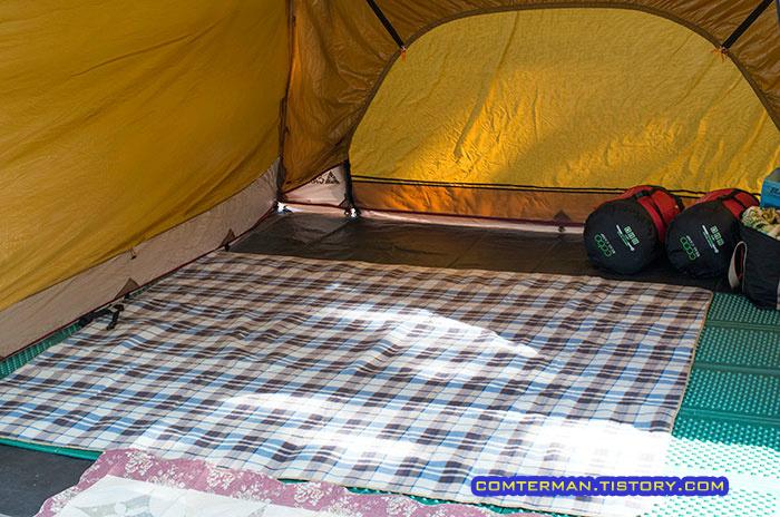 캠핑용품 캠핑매트 발포매트 파크론