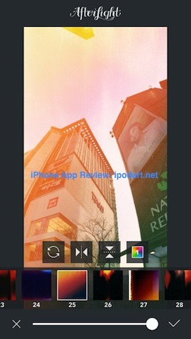 아이폰 추천 사진 편집 앱 Afterlight