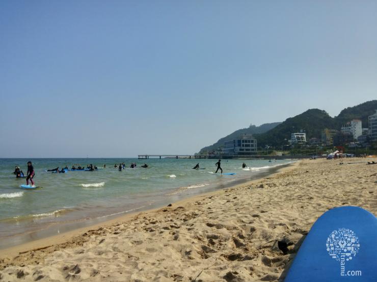 부산여행 - 송정해수욕장