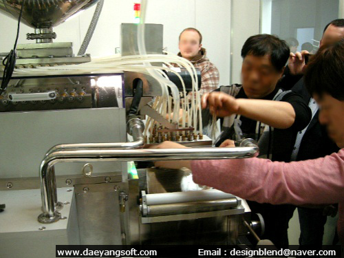 Training how to operate the softgel machine after installation for European buyers
