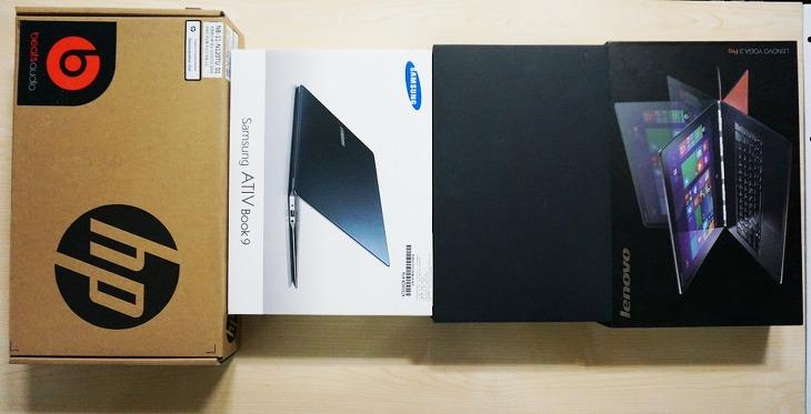 삼성 아티브북9, 삼성 NT930, 레노버 요가3 프로, 레노버 요가, 에이수스 트랜스포머북, 아수스 트랜스포머, HP 파빌리온, 브로드웰 노트북, 인텔 코어m 노트북, 노트북, IT,