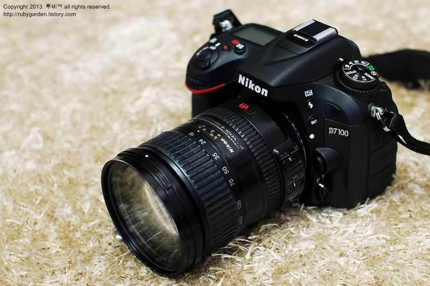 니콘(Nikon) D7100 개봉기 - 새로운 사랑이 시작되었다!