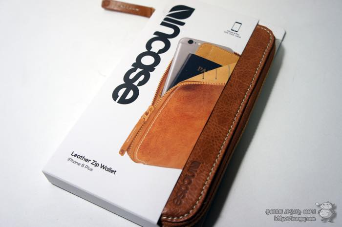 아이폰6, 인케이스, incase, 레더집월렛, leather, zip, wallet, 구성, 재질