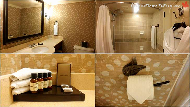 5성급 호텔 화장실입니다