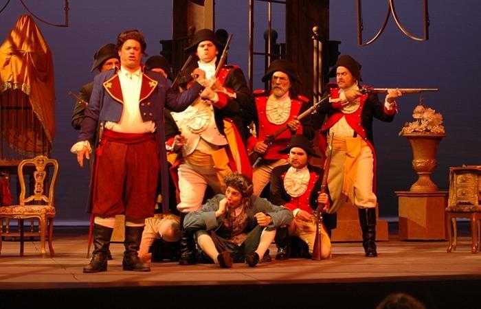 사진: 오페라는 노래와 대사로 나뉘고 이것을 아리아와 레치타티보라고 한다. 하지만 둘 다 노래처럼 음률이 있고 반주가 연주된다. [아리아와 레치타티보의 뜻]