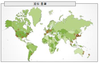 2006년 10월 지도 중첩