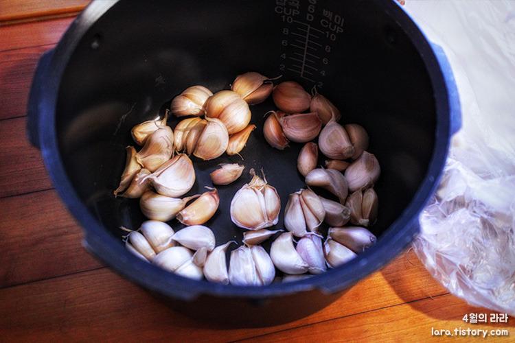흑마늘만드는법