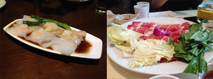 중국 현지 음식