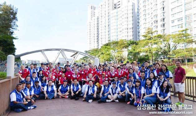 삼성물산 건설부문 동남아총괄 나눔활동 1