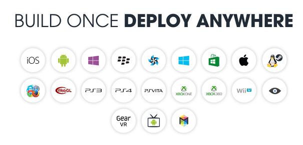 Unity3D 지원 플렛폼
