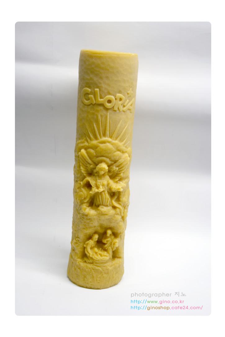 2014년 성탄 천사 글로리아 조각 밀랍 양초 캔들
