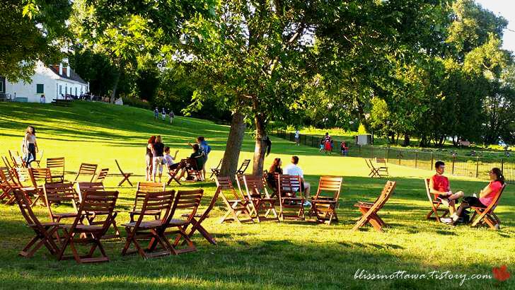 퀘벡 가티노 공원입니다
