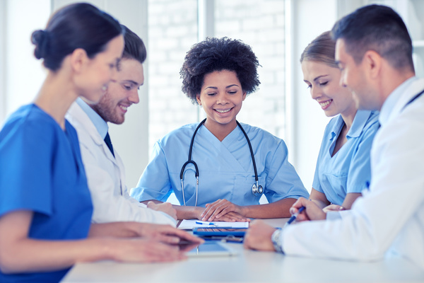 Free Stock Photo JPG file Group of happy doctors at hospital Stock Photo 15