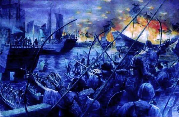 백강전투(백강구전투) - 백제 멸망을 되살리려던 백제 부흥운동의 세계대전