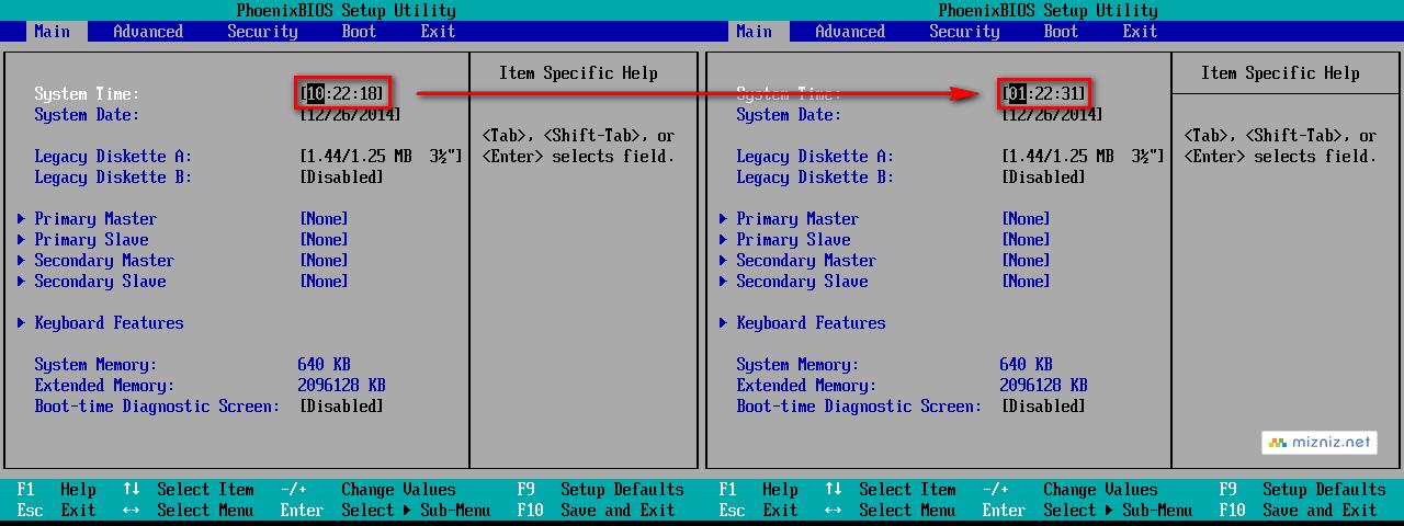 VMware Workstation 가상머신 시간 설정