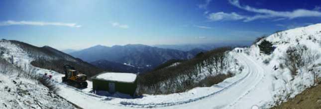 겨울여행주간 소백산 국립공원