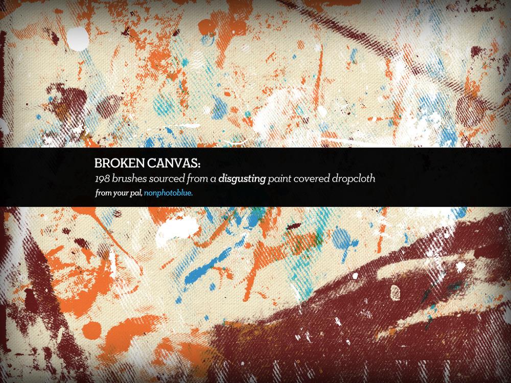 198 가지 무료 포토샵 그런지 페인트 브러쉬 - 198 Free Photoshop Grunge Paint Brushes