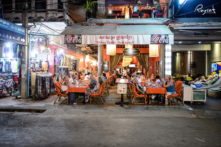 씨엠립 펍스트리트 레스토랑
