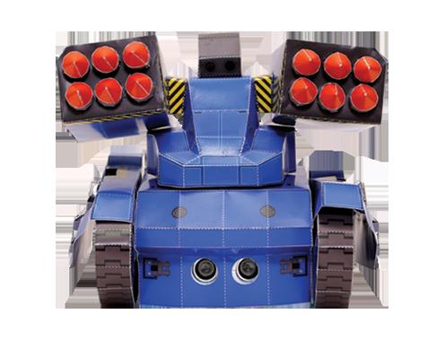 밀리터리 미사일 발사기 탱크 종이모형