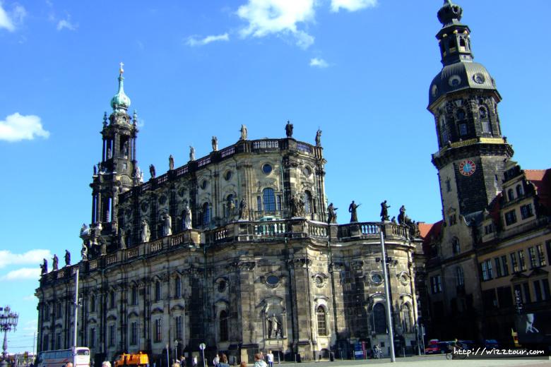 독일 드레스덴 카톨릭 궁정 교회