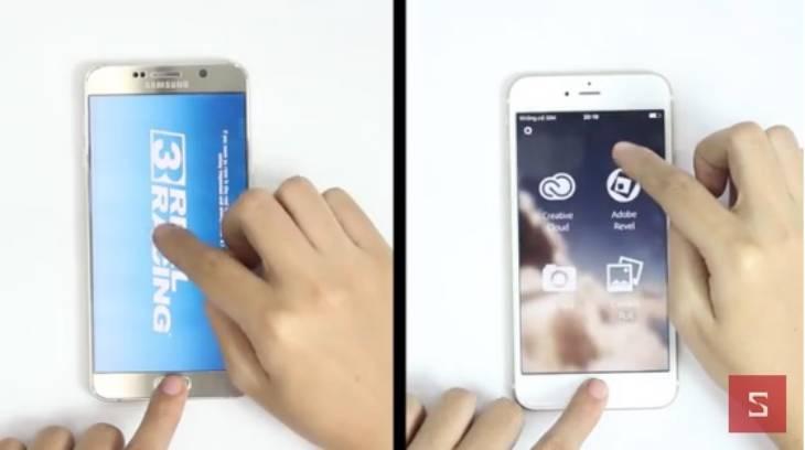 아이폰6s플러스, 아이폰6s, 갤럭시노트5, 비교, 속도, 퍼포먼스, 로딩
